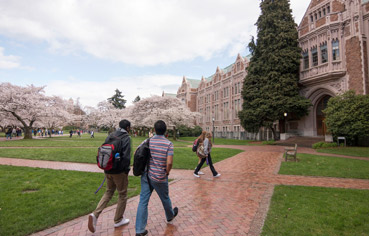 At the University of Washington, independence and freedom meets hard courses.