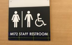 Nonbinary students can get passes that allow them to use gender neutral staff bathrooms.