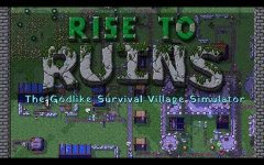 Games! Steam Early Access Game Review: Rise to Ruins, a Godlike Stimulator!