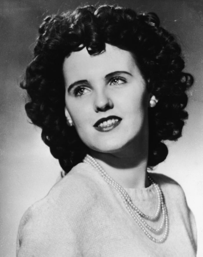 Pictured is Elizabeth Short.