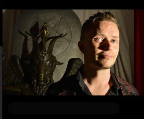 Lucien Greaves, co-founder of the Satanic Temple.