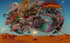 Art by H. Emmanuel Figueroa inspired by Jodorowsky's Dune