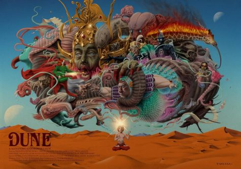Art by H. Emmanuel Figueroa inspired by Jodorowsky's Dune