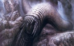 Sandworm of Arrakis designed by H.R. Giger for Ridley Scott's Dune attempt